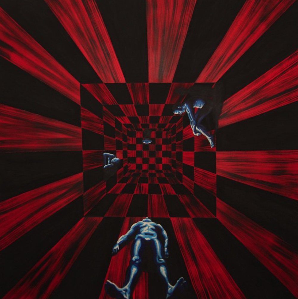Room of Consciousness (red), 2015