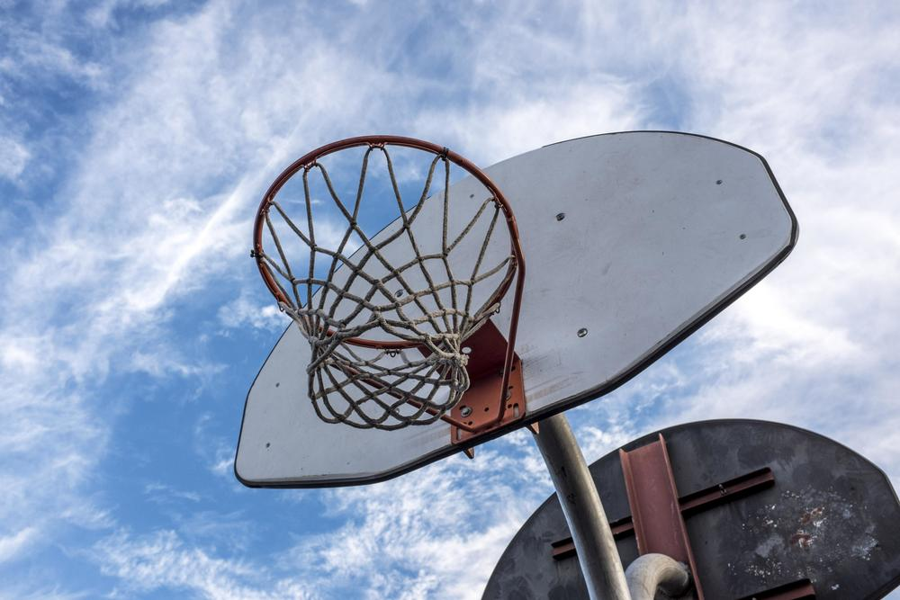 We found one backboard spared by Chocolate Thunder