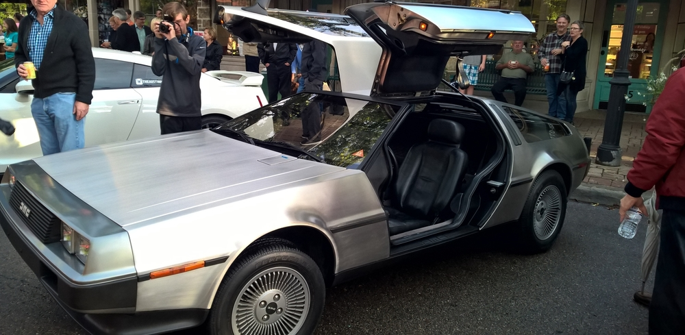 Displayed at the 2015 Hill Valley retro auto show