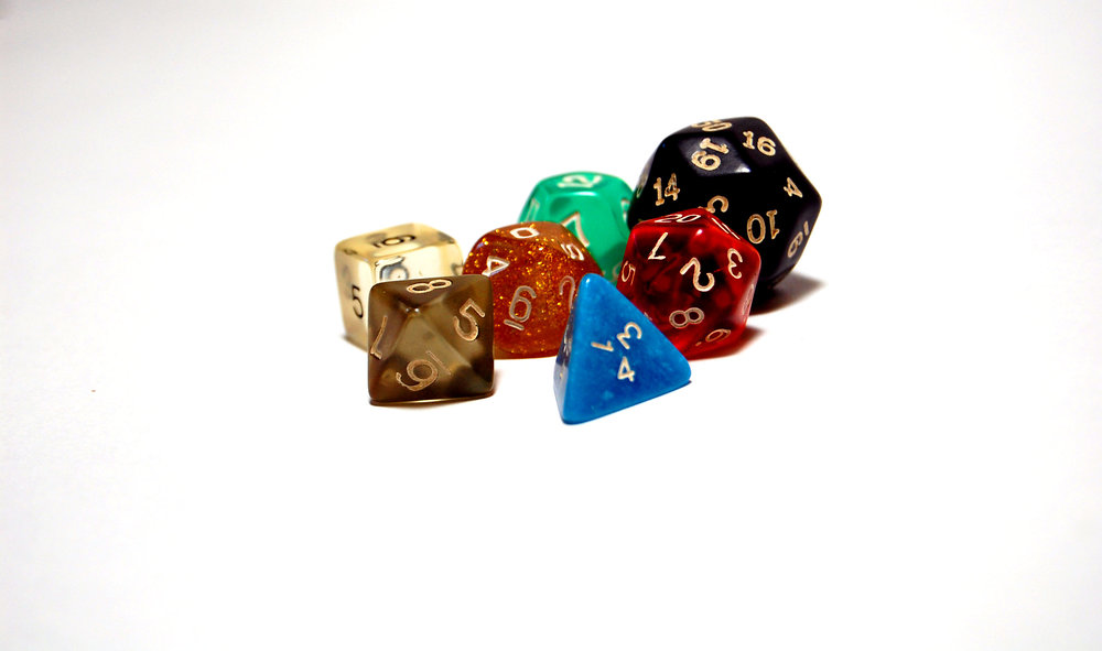 Like all good fantasy games, one just needs a good roll of the dice.