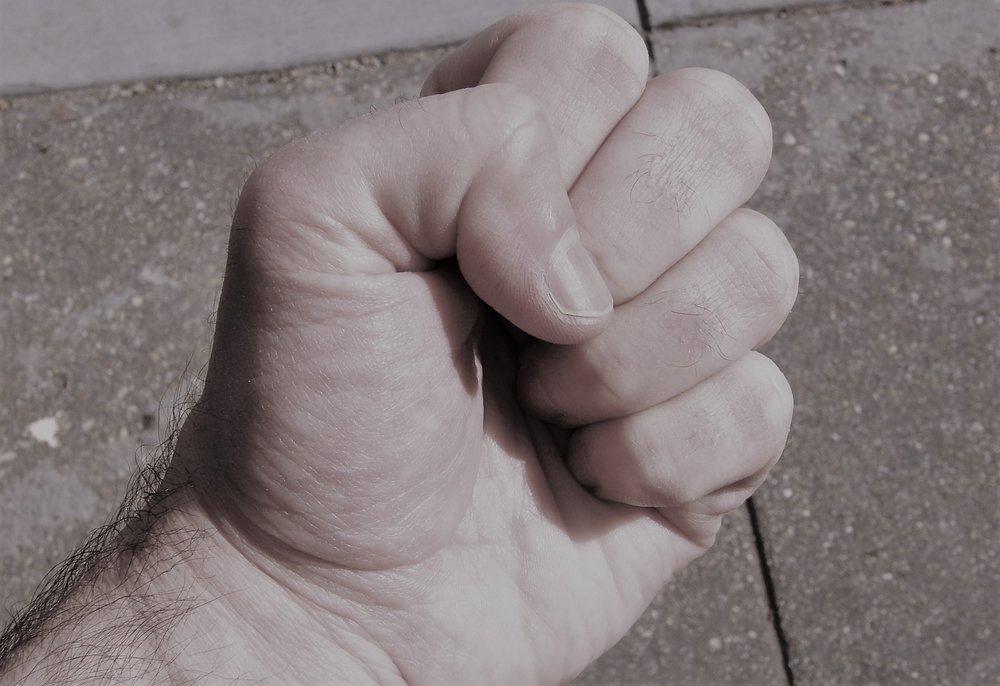 Fist shaking