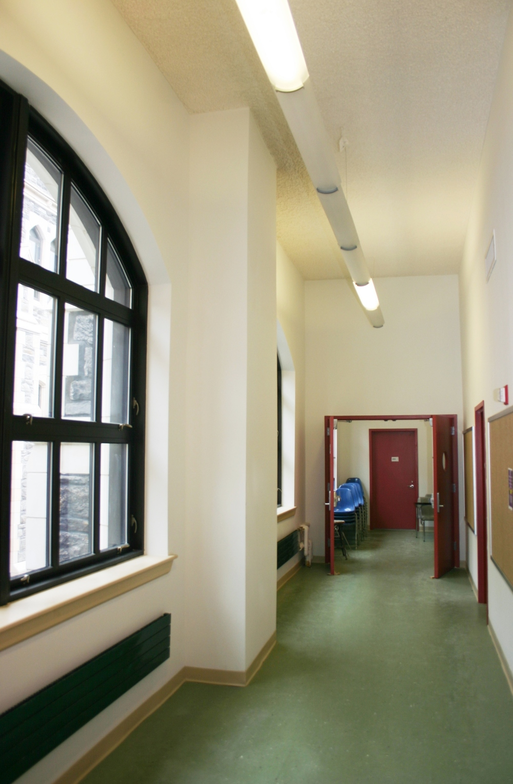 The City College of New York Hallway Reno (after)