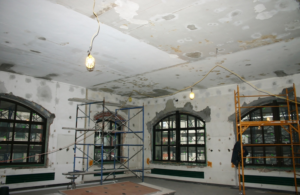The City College of New York Classroom Reno (before)