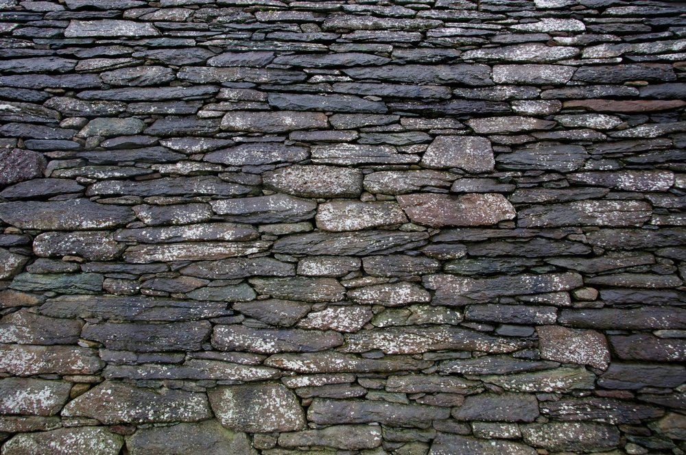 2011-0014-0469.  Stone church wall, Dingle, Ireland.