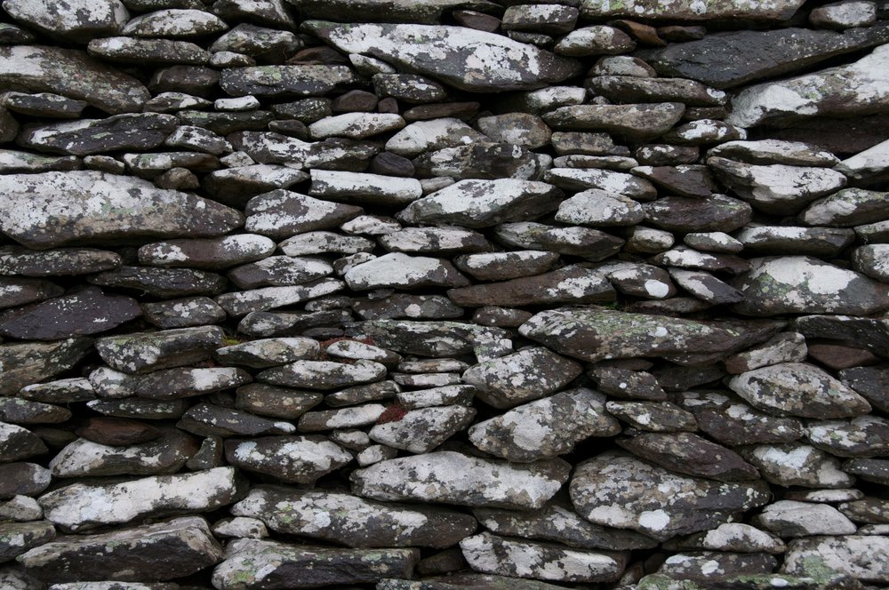 2011-0014-0278.  Stone wall, Dingle, Ireland.