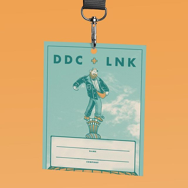 DDC + LNK: Lanyard . A little more than a year ago, I had the wonderful experience of designing and illustrating a few promotional materials for a @Draplin talk in Lincoln, Nebraska. @redthreadads and @hudl sponsored the event, and my pal Dane Stahr screen printed some beautiful posters. This is a little lanyard design that I created based on my poster design and illustration. . Check out the full project on my website at: https://lukewohlgemuth.com/aaron-draplin-poster . #lukewohlgemuth #illustration #drawing #poster #design #DDC #DraplinDesignCo #LNK #Sower #NYC #art #illustrationartists #illustratorsoninstagram #mfaillustration