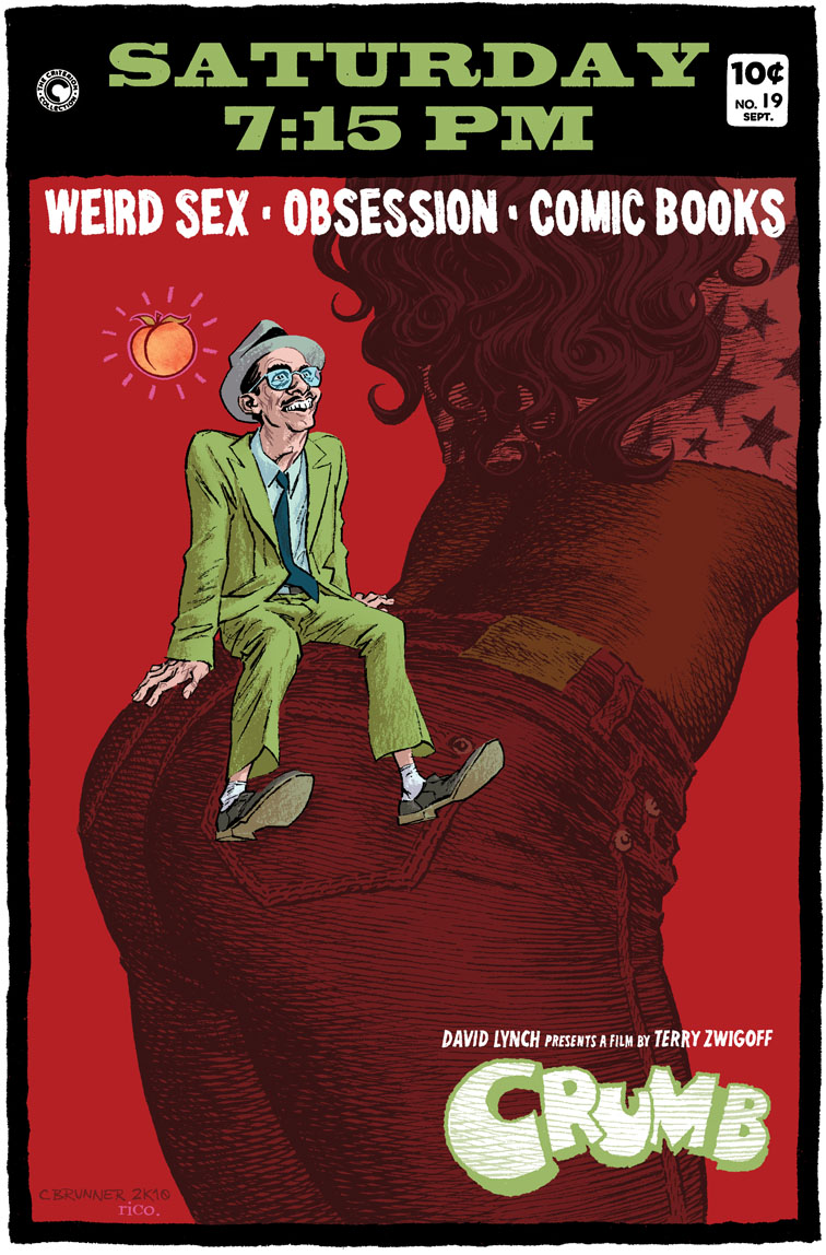 Crumb movie poster, Criterion Cinema at A.T.P.