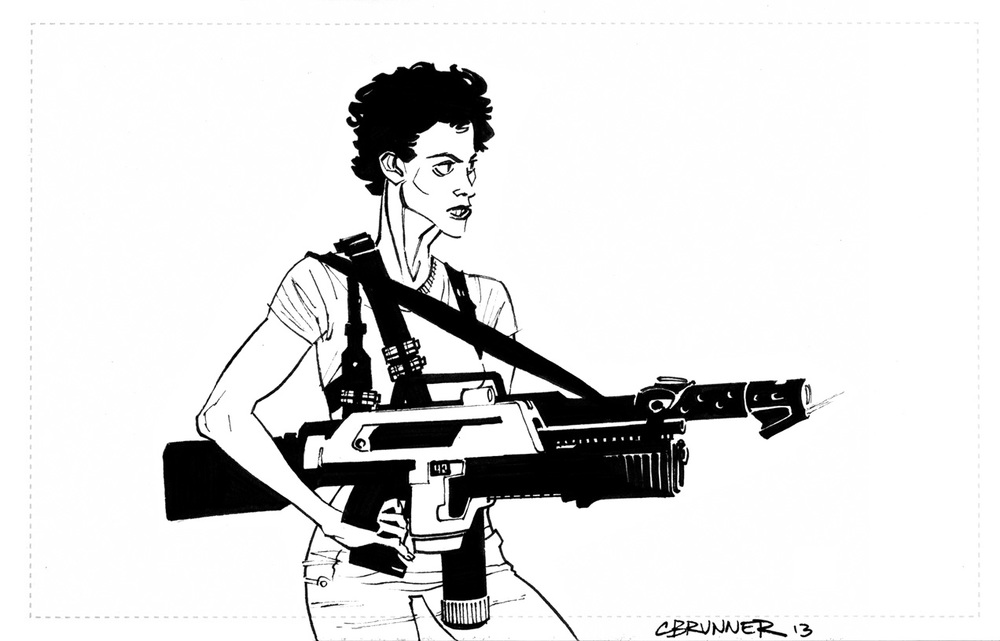 Sigourney Weaver, Aliens