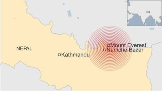 New Earthquake Hits Near Thame Valley - 12:50 NST, May 12th 2015