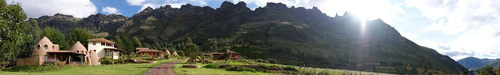 Sacred Valley, Peru, where I accidentally stayed in a ayahuasca temple.