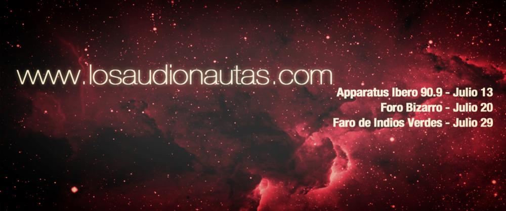 Actividades Julio https://www.facebook.com/Audionautas/