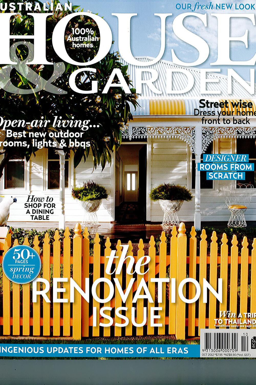 October 2012      House & Garden