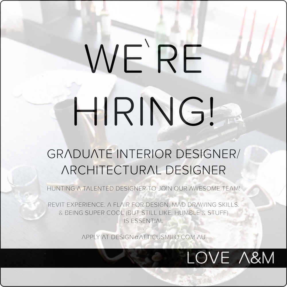 we 39 re hiring graduate interior designer architectural designer