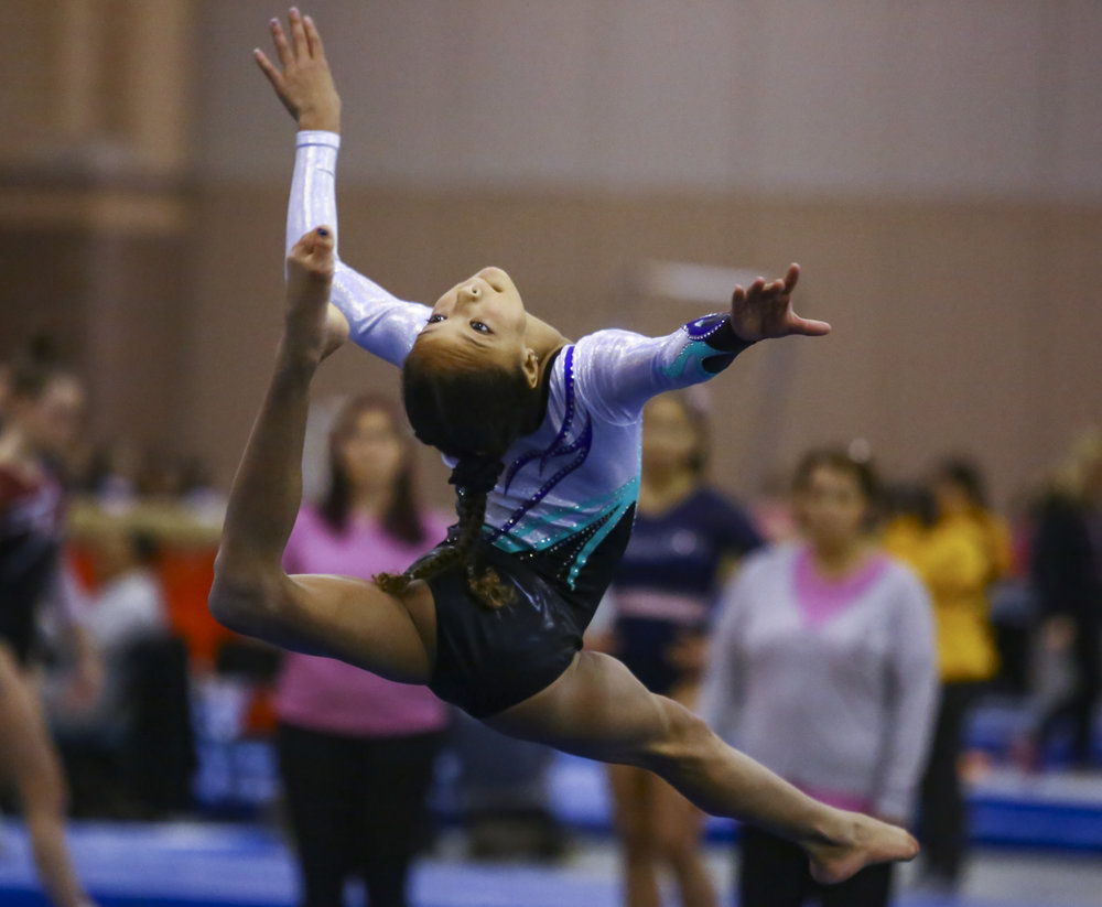 One of my favorites from working the Star Struck gymnastics tournament in Atlantic City for StudiOne.
