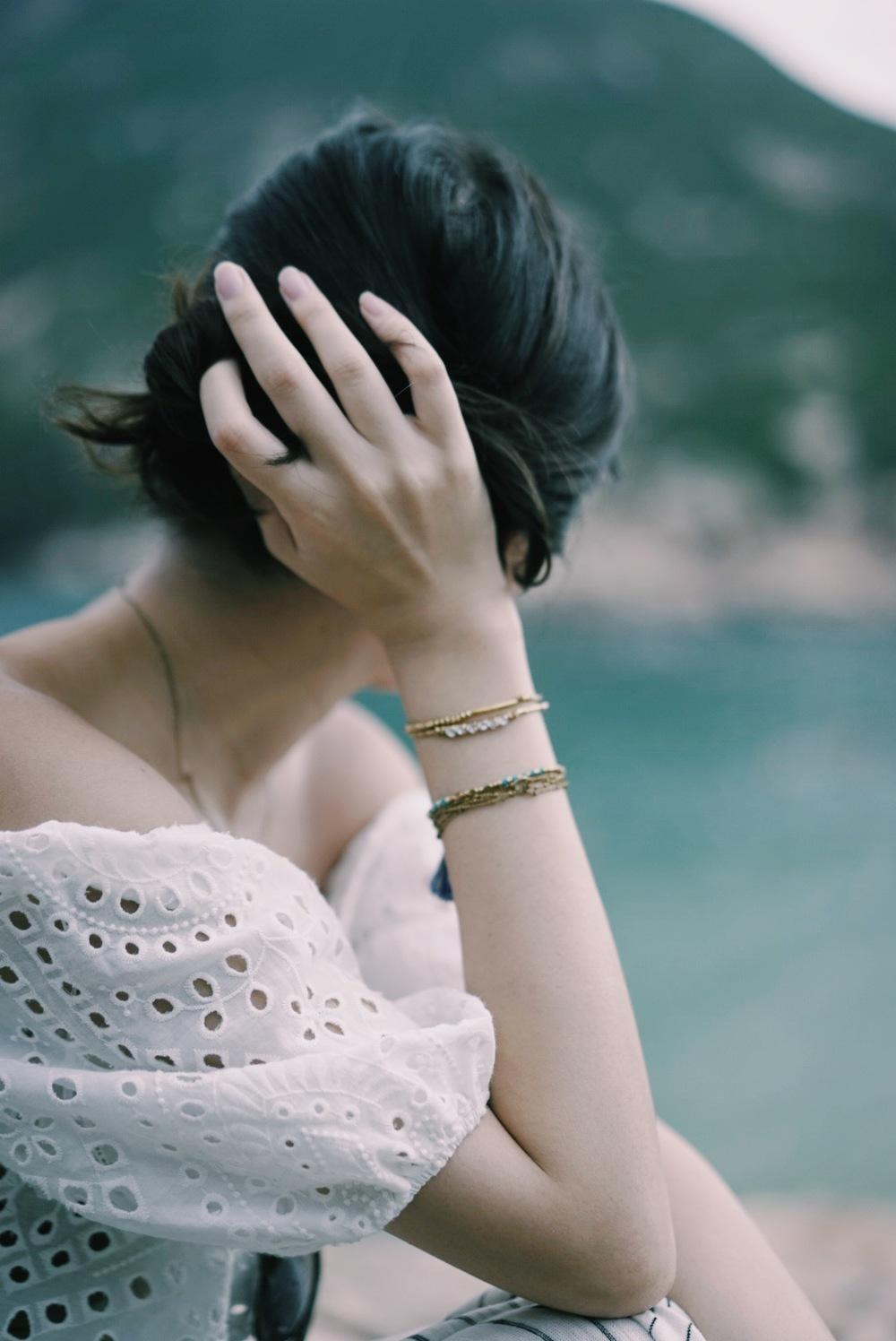 黃銅手環   |  水鑽黃銅   |  藍松石流蘇