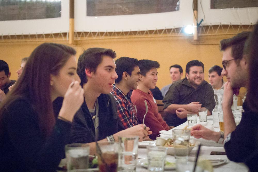 active / Alumni dinner
