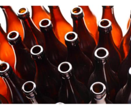 Beer bottles canva