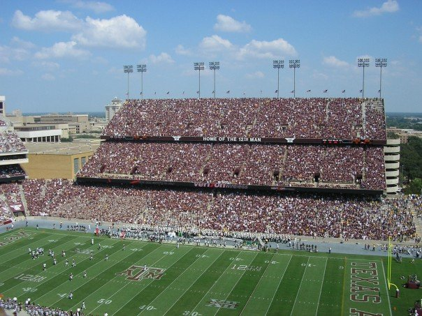 My first Aggie game! 2007