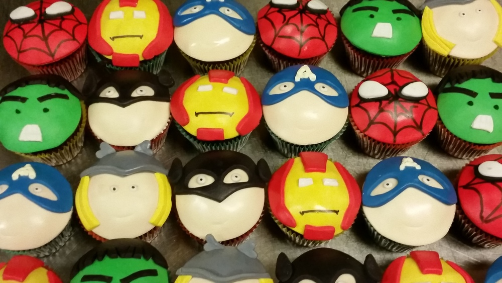Marvel Superhero Cupcakes