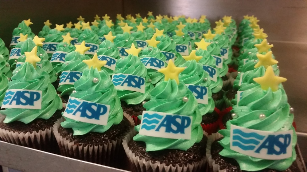 Mini Corporate Cupcakes