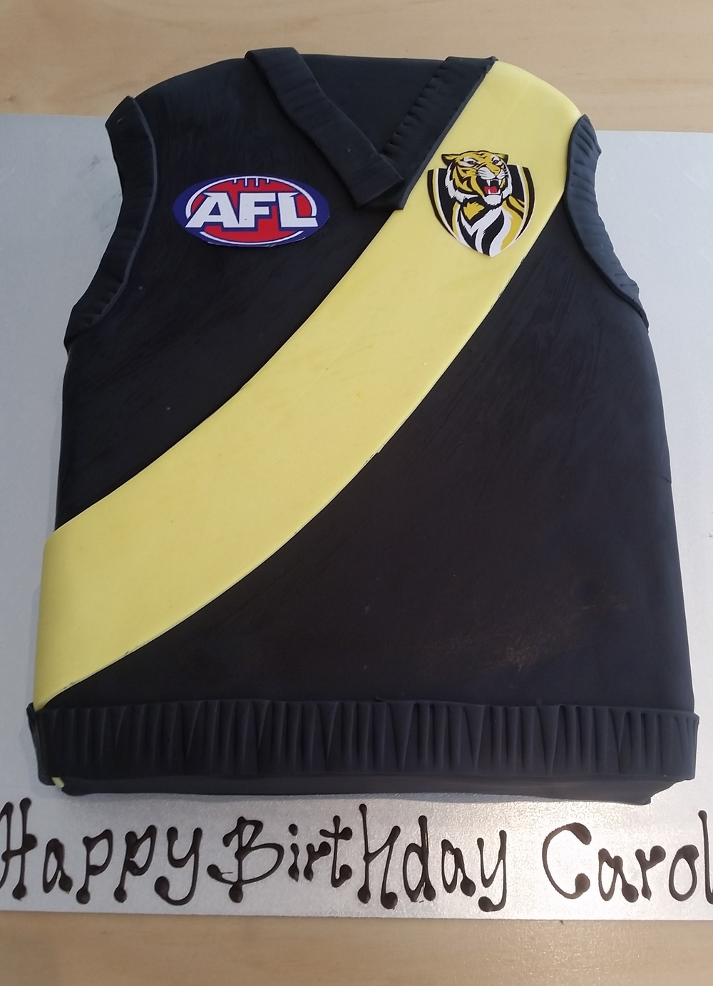 Richmond Afl Birthday Cake