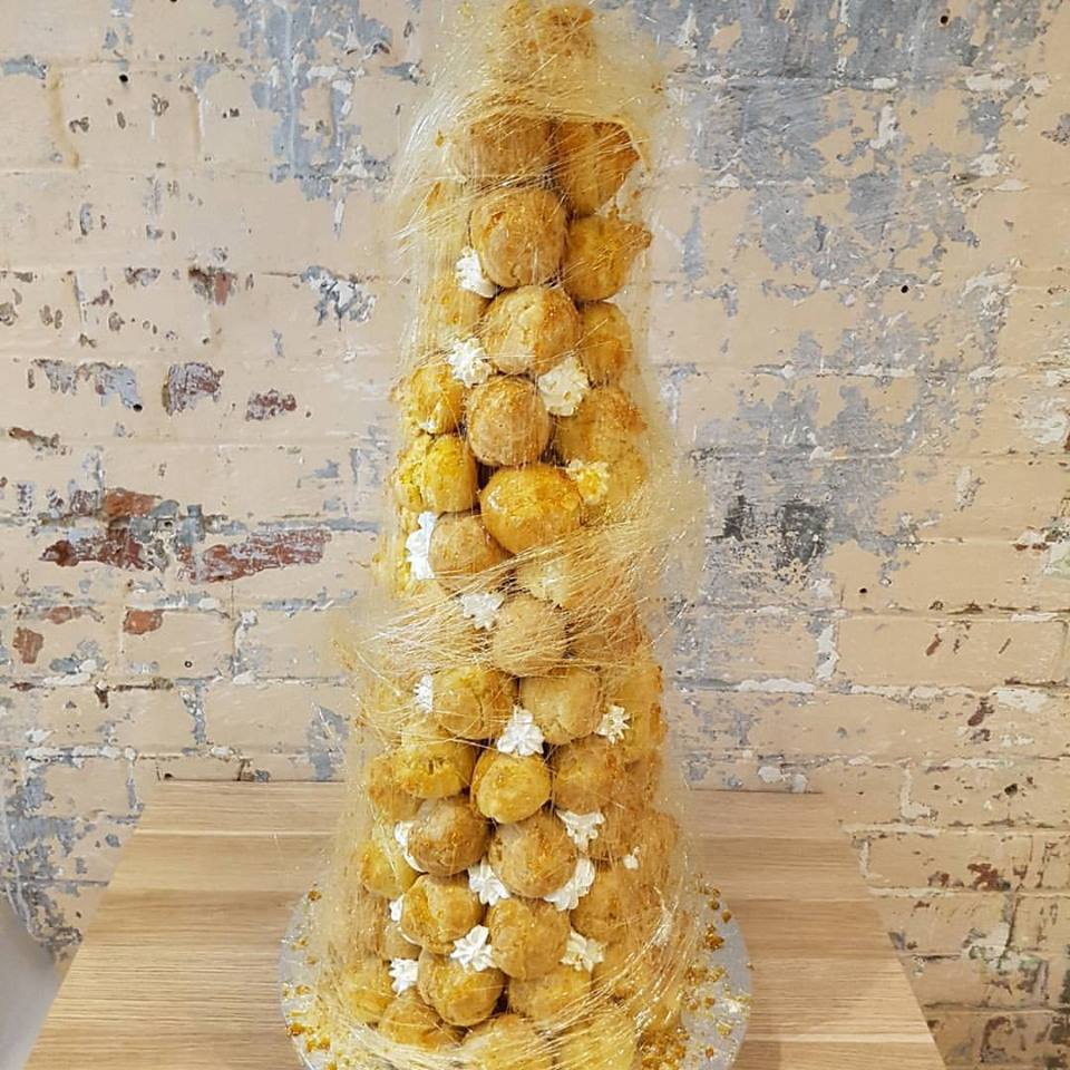 Profiterole tower