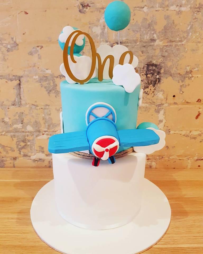 ONE Aeroplane Cake