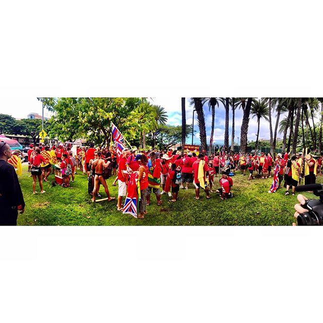 Aloha Aina Unity March #kukiaimauna #protectmaunakea #protecthawaii #alohaaina