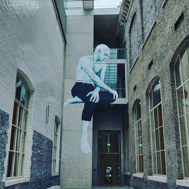 Striking #mural by #joecaslin in the fantastic atrium space by #heneghanpeng at #nationalgalleryireland