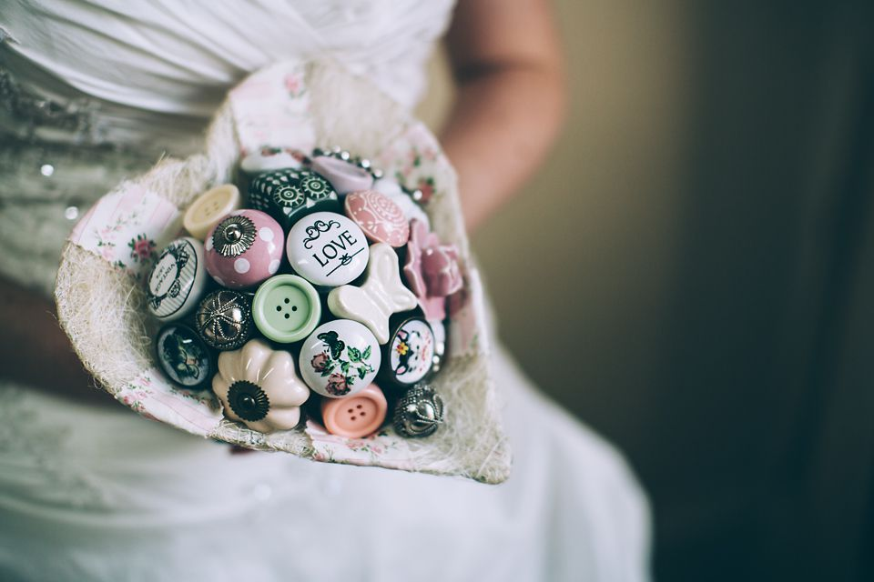 I Heart Buttons Bouquets Heart Bureau Bouquet  - pippa brown photography1.jpg