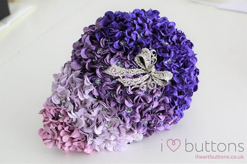 Ready made teardrop ombre paper flower button brooch bouquet i ready made teardrop ombre paper flower button brooch bouquet mightylinksfo