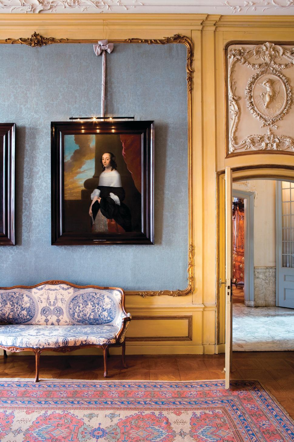 foto: Museum Van Loon - De blauwe salon
