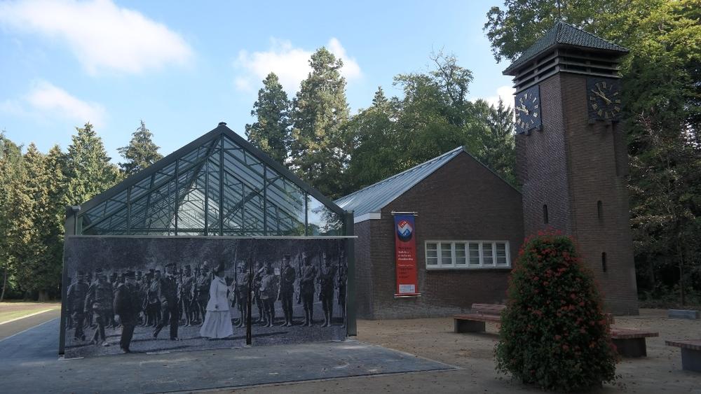 Foto: Tentoonstellingspaviljoen Nederland in de Eerste Wereldoorlog, Huis Doorn