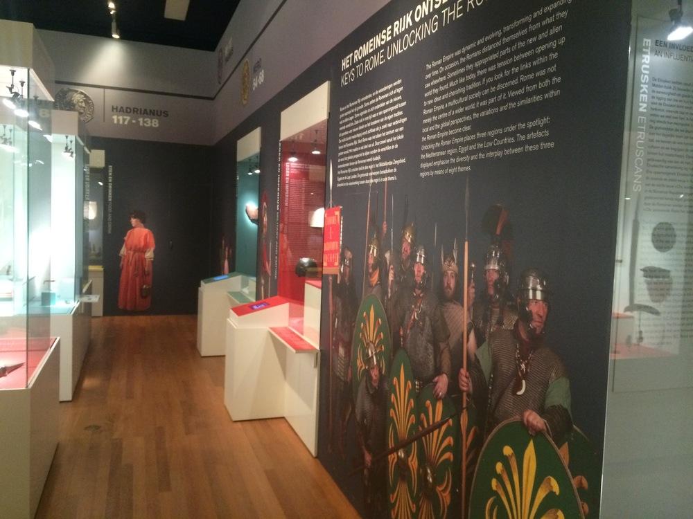De tentoonstelling Welkom bij de Romeinen