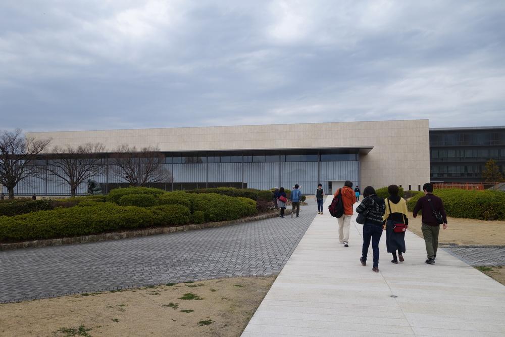 De nieuwe vleugel van het Kyoto National Museum