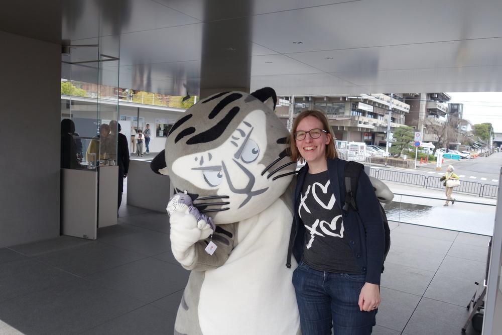 De tijger van het museum en ik