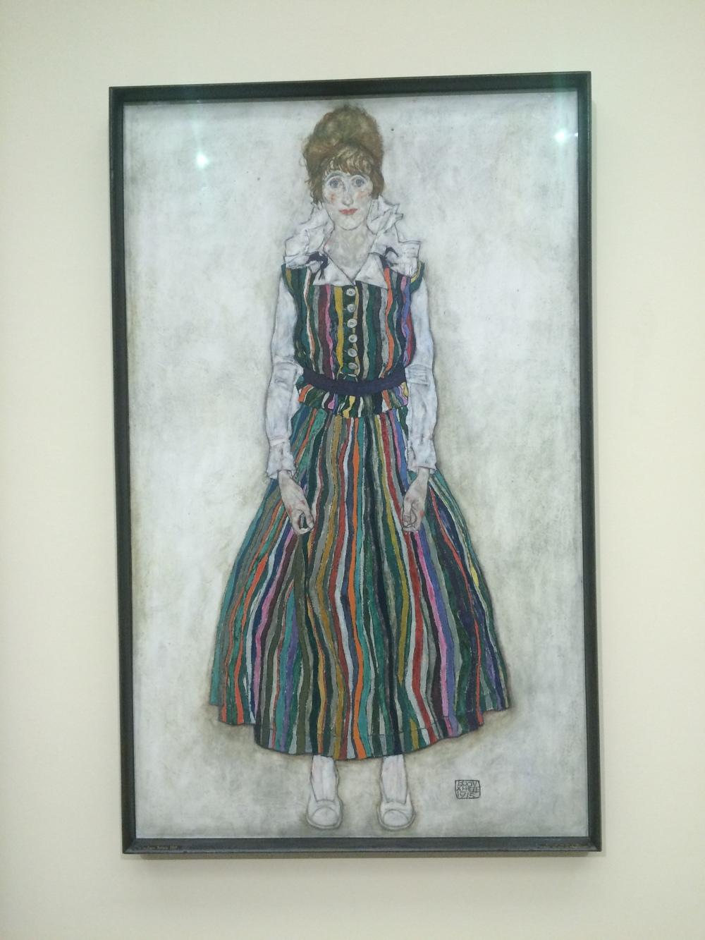 Portret van Edith - Egon Schiele