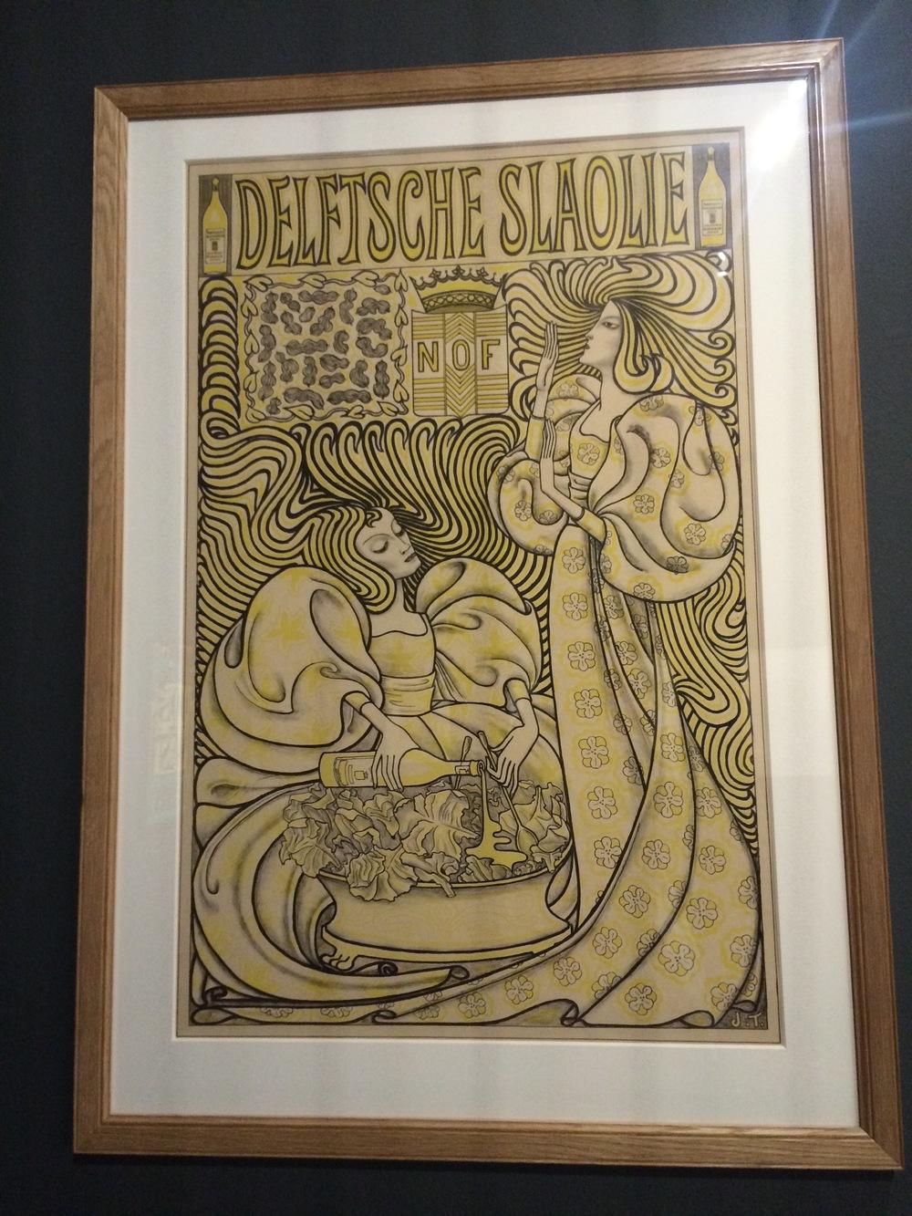 Jan Toorop Delftsche Slaolie Gemeentemuseum
