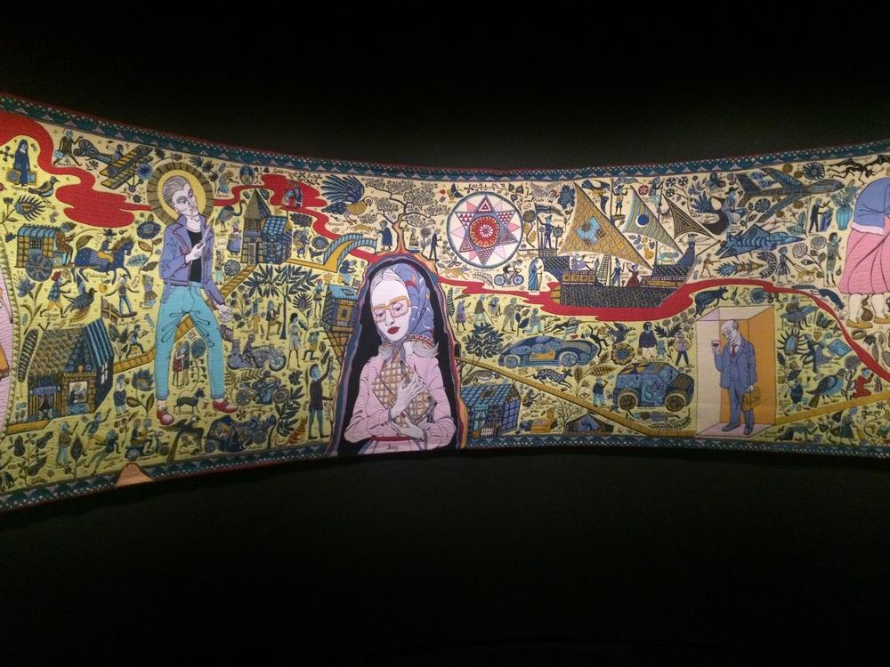 The Walthamstow Tapestry van Grayson Perry gekozen door Sywert van Lienden