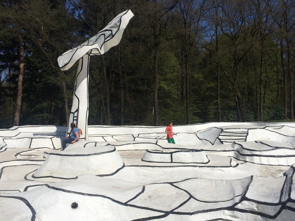 Jardin d'Email - Jean Dubuffet