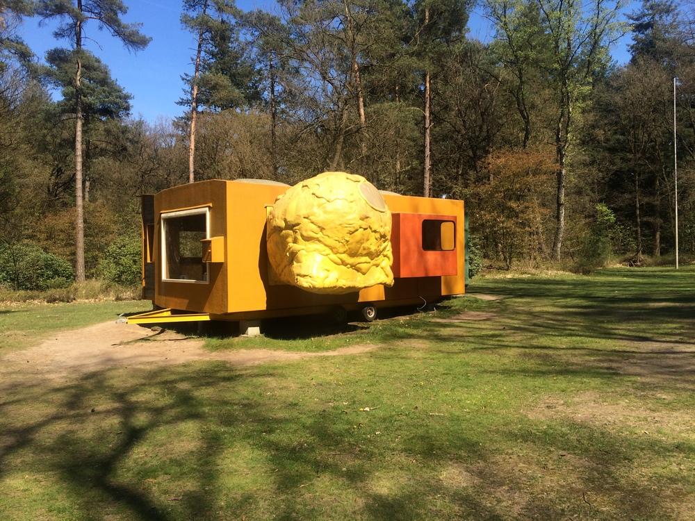 Mobile home for Kröller-Müller - Joep van Lieshout
