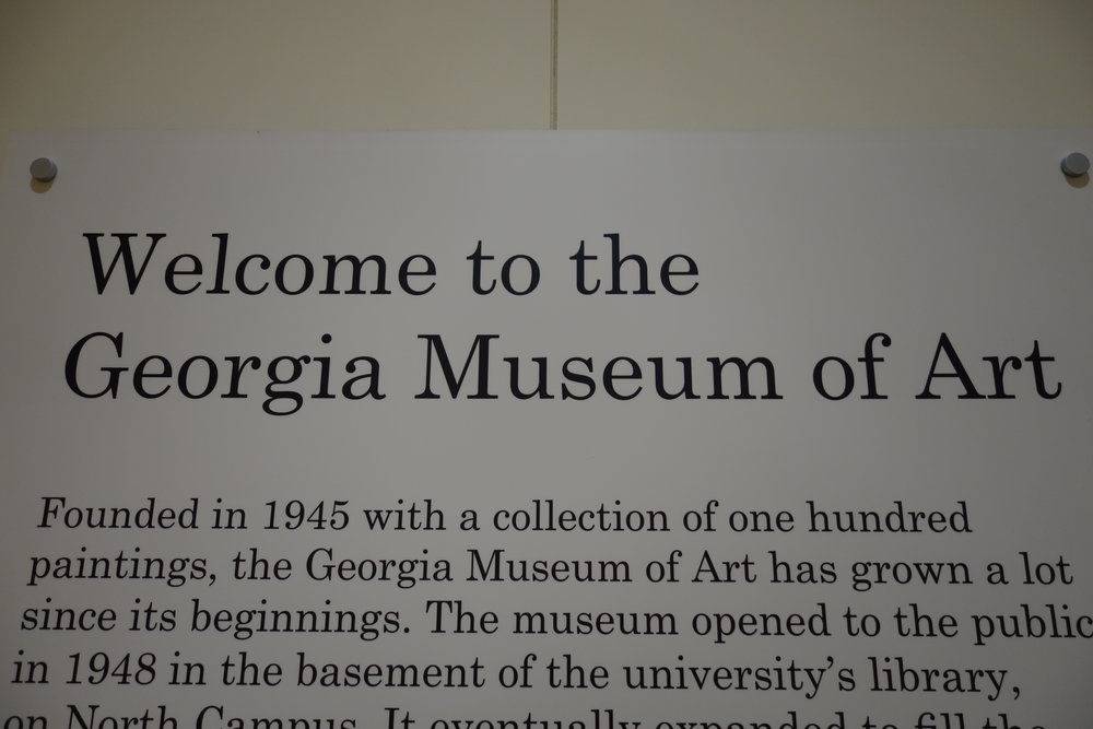 Georgia Museum of Art, Athens, De Museumpodcast