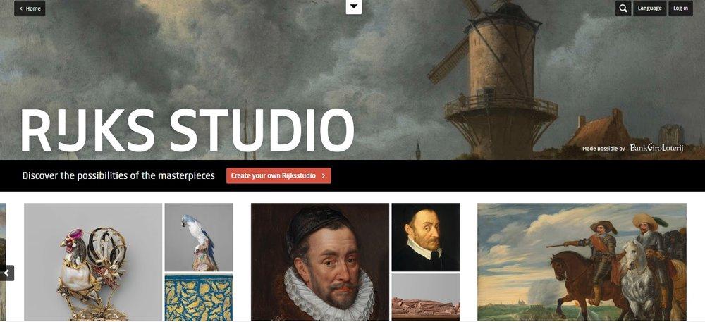 Rijksstudio, online cultuur aanbod, Culturele vacatures, De Museumpodcast