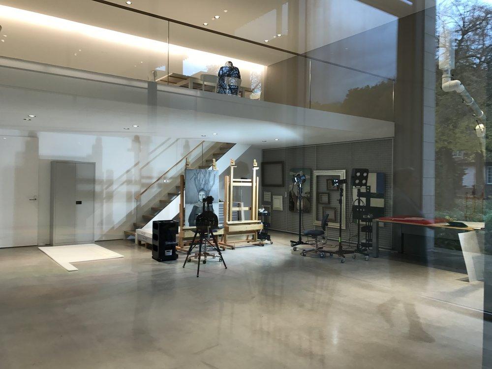 Museum Voorlinden, restauratie-atelier, De Museumpodcast