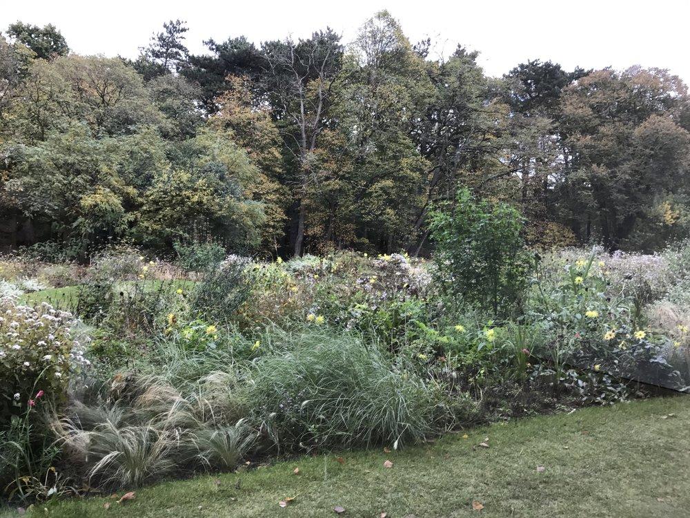 De tuin, vormgegeven door Piet Oudolf