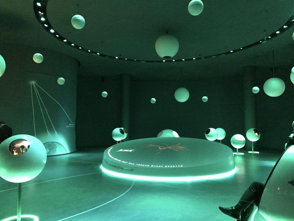 'Universe of Particles' tentoonstelling bij CERN