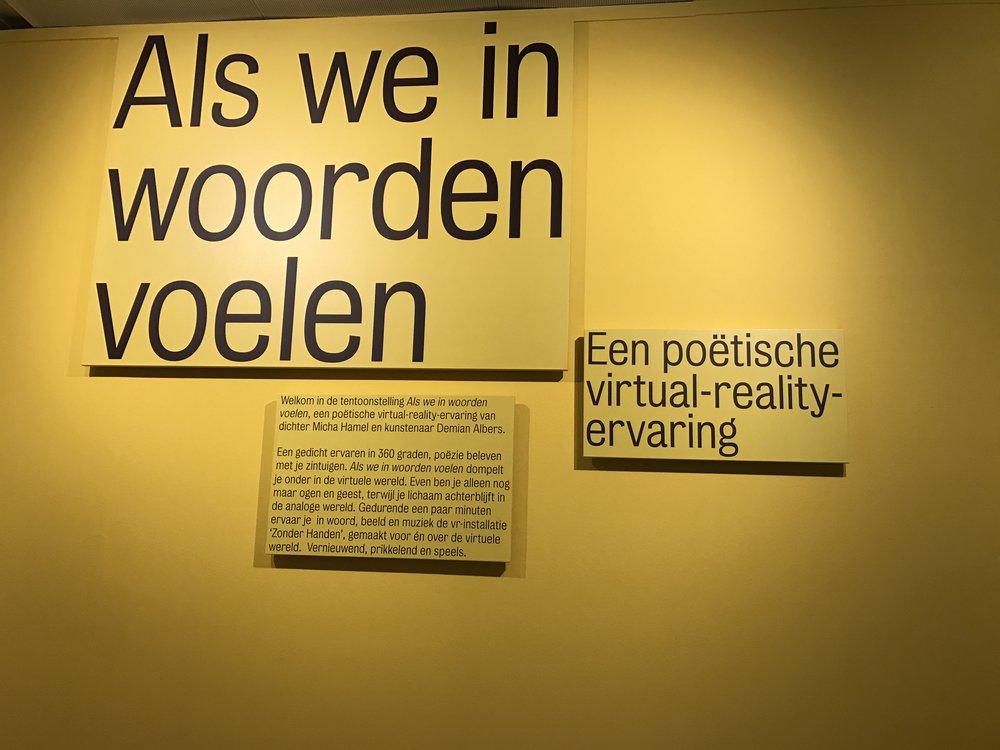 VR, Literatuurmuseum, De Museumpodcast