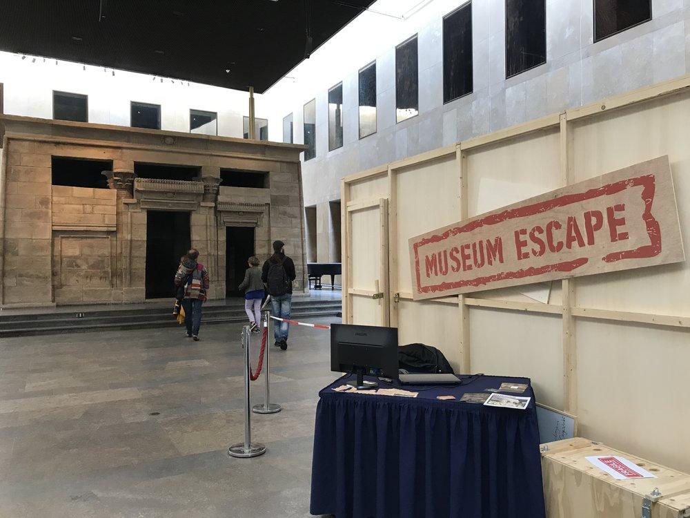 De MuseumEscape in het Rijksmuseum van Oudheden