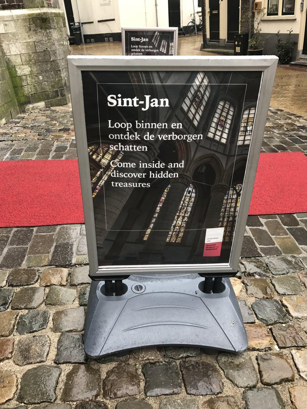 De Sint-Jan in Gouda is onderdeel van het grootste museum van Nederland