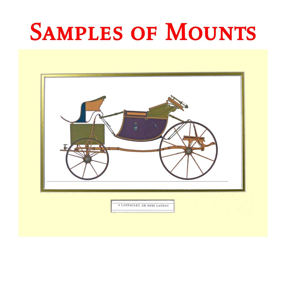 Samples of Mounts